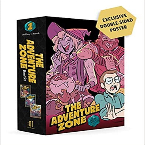 The Adventure Zone Boxed Set: Here There Be Gerblins, Murder on the Rockport Limited! and Petals to the Metal ( Adventure Zone )
