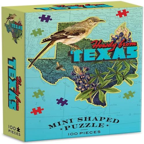 Wendy Gold Texas Mini Shaped Puzzle