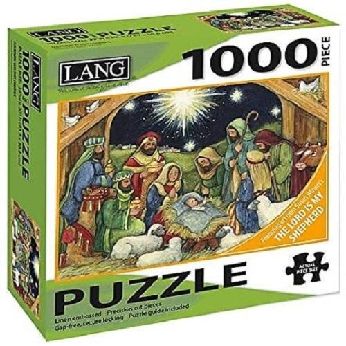 Nativity 1000 Piece Puzzle