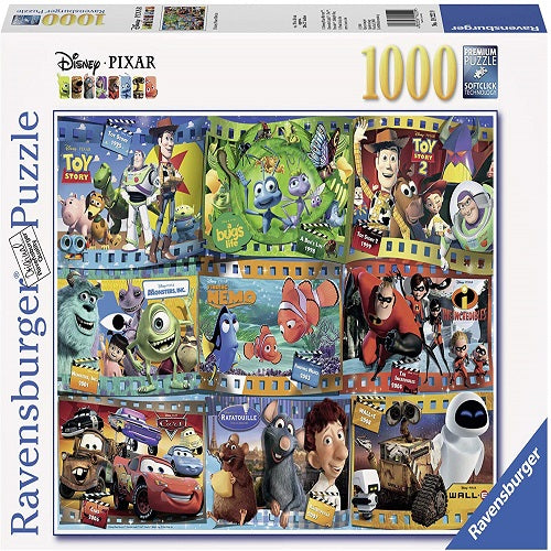 Disney Pixar Movies 1000 PC Puzzle