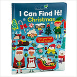 I Can Find It! Christmas (Large Padded Board Book) ( I Can Find It! )