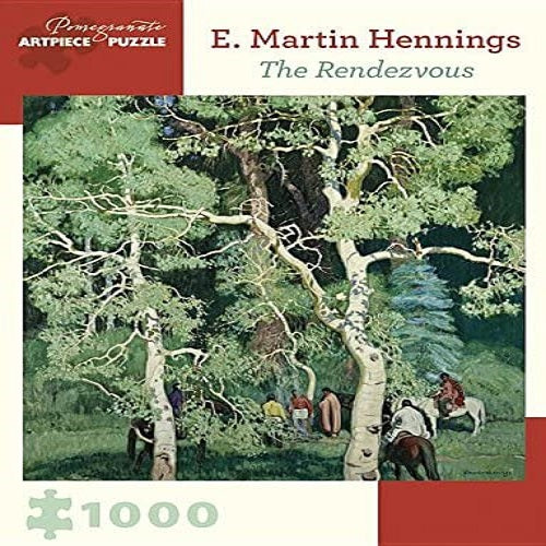 E. Martin Hennings: The Rendezvous 1,000-Piece Jigsaw Puzzle