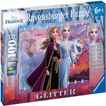 Disney Frozen: Strong Sisters 100 PC Glitter Puzzle