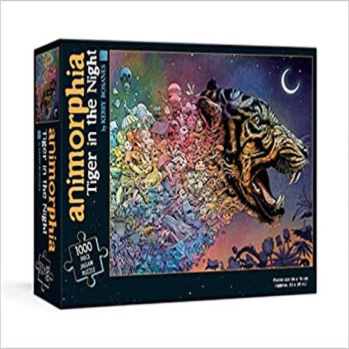 Animorphia Tiger in the Night Puzzle