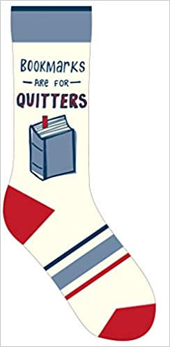 Bookmarks Are for Quitters Socks