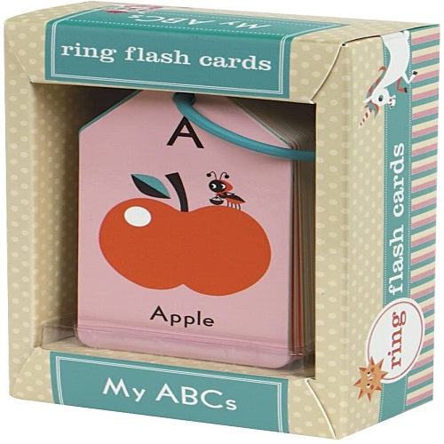 My Abc's Ring Flash Cards