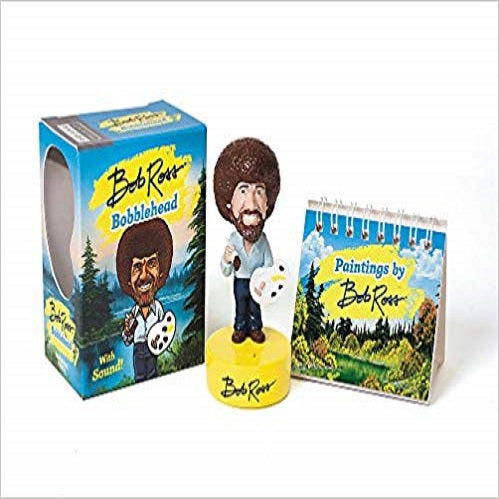 Bob Ross Bobblehead: With Sound! (Miniature Editions)