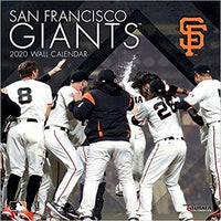 San Francisco Giants: 2020 12x12 Team Wall Calendar