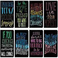 Pocket Pal Mini Journals - Set of 8 - Quotations