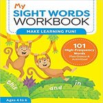 My Sight Words Workbook: 101 High-Frequency Words Plus Games & Activities! ( My Workbooks )