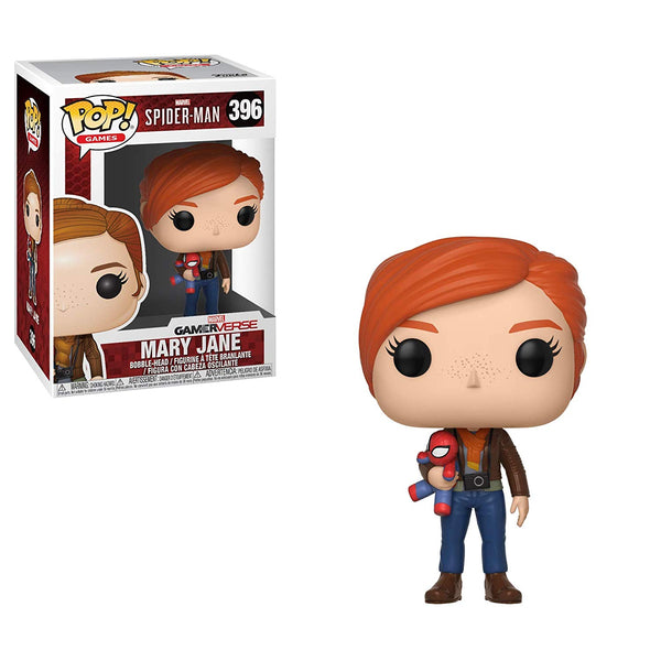 Pop Spider-Man Mary Jane Vinyl Figure