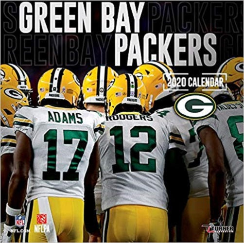 Green Bay Packers: 2020 12x12 Team Wall Calendar
