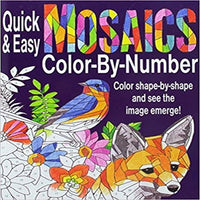 Quick & Easy Mosaics Color by Number