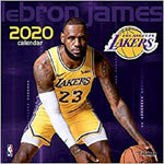 Los Angeles Lakers Lebron James: 2020 12x12 Player Wall Calendar