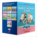 The Baby-Sitters Club Graphic Novels #1-7: A Graphix Collection (Color) ( Baby-Sitters Club Graphix )