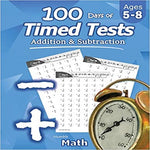 Humble Math - 100 Days of Timed Tests: Addition and Subtraction: Ages 5-8, Math Drills