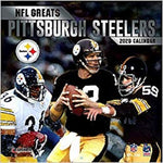 NFL Greats - Pittsburgh Steelers: 2020 12x12 Greats Wall Calendar