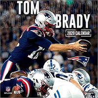 New England Patriots Tom Brady: 2020 12x12 Player Wall Calendar