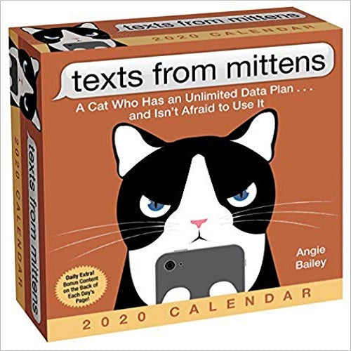 Texts from Mittens the Cat 2020 Day-To-Day Calendar