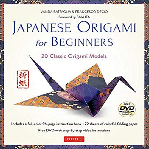 Japanese Origami for Beginners Kit:20 Classic Origami Models:Kit with 96-Page Origami