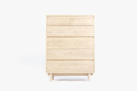 Ada Tallboy Dresser - 6 Drawer