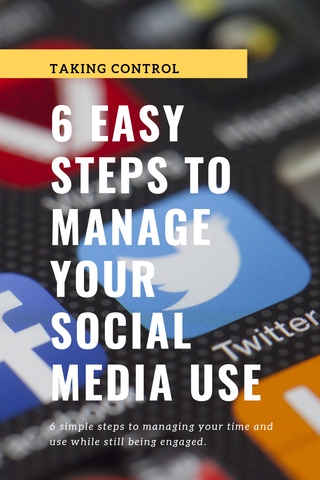 Easy Steps for Social Media Use |Daisy May & Me|