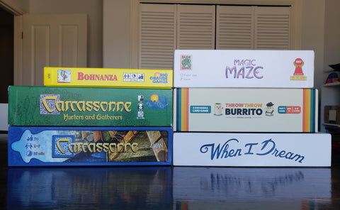 Board game stack