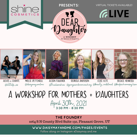 Dear Daughter Workshop {Daisy May & Me}