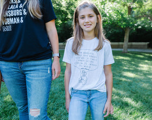 Anne Frank Tee Shirts,  |Daisy May and Me
