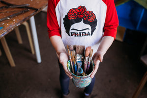 Frida tee Shirts,  |Daisy May and Me