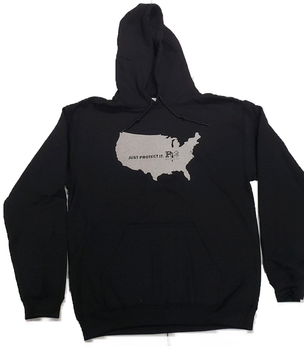 Just Protect It. - America Hoodie