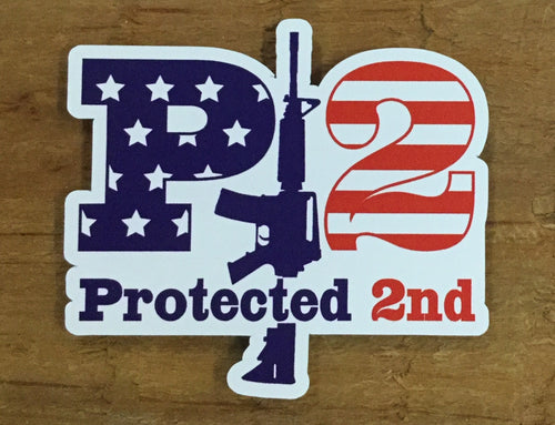 Small P2 Sticker