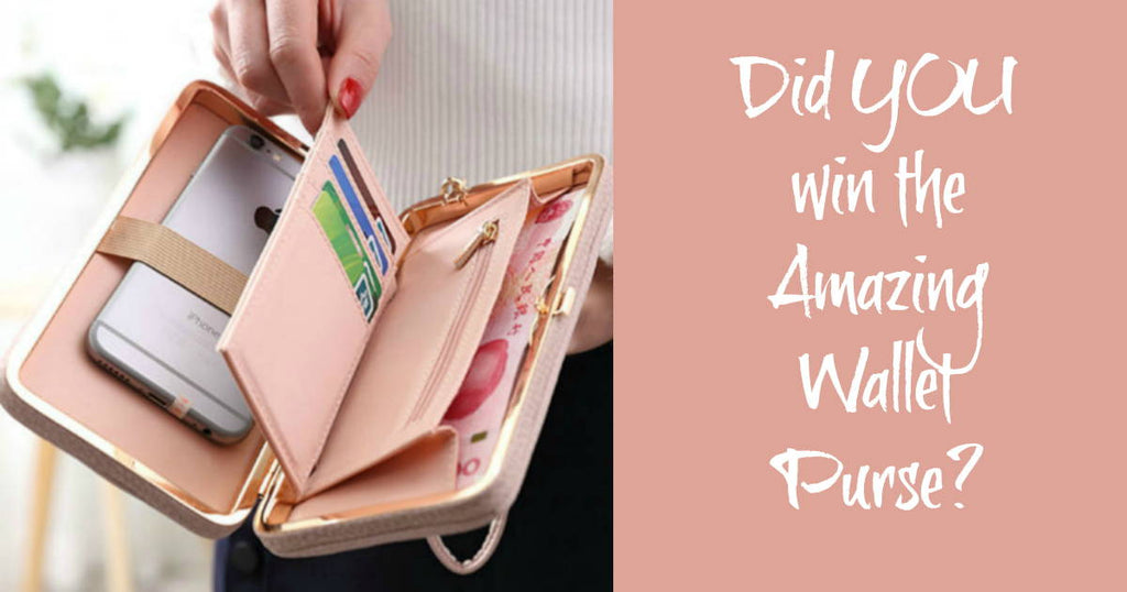 Did YOU Win The Wallet Purse Everyone Is Talking About?