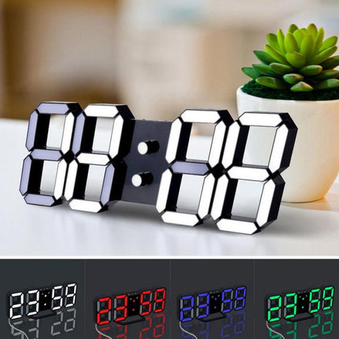 "Image of ""Modern Times"" LED Clock"