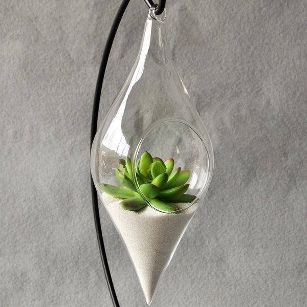 "Hanging Glass Vase ""Infinity"""