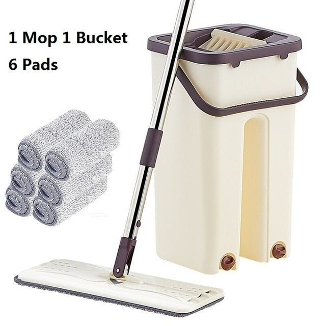 """So Much Easier"" Floor Cleaning System"