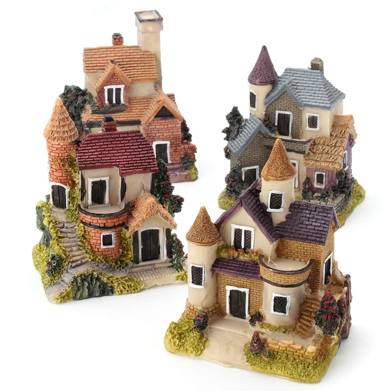 Cute Mini Miniature House Fairy Garden Decoration