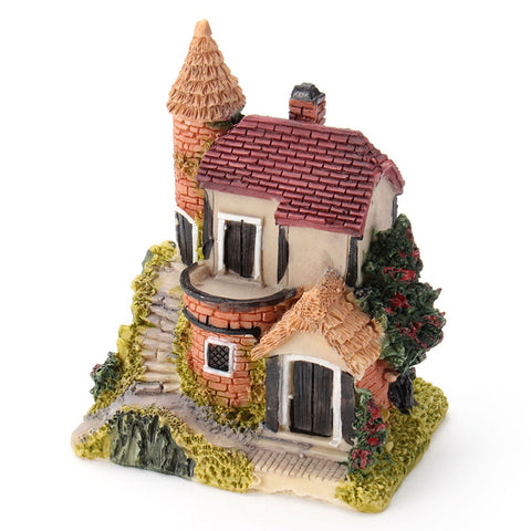 Image of Cute Mini Miniature House Fairy Garden Decoration