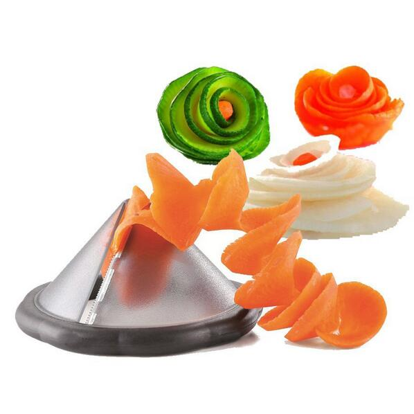 """Pyramide"" Vegetable Creative Spiralizer"
