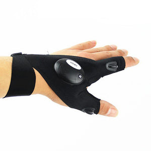 Fingerless LED Glove