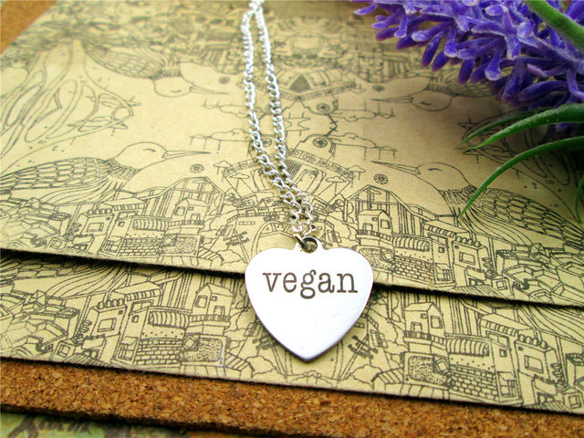 """Vegan&Elegant"" Pendant Necklace"