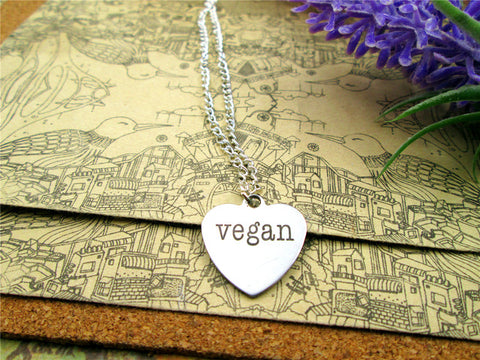 "Image of ""Vegan&Elegant"" Pendant Necklace"