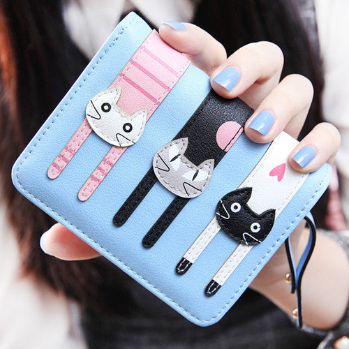 """Love Cats"" Wallet"