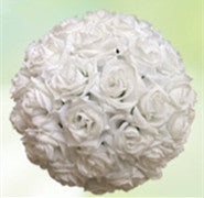 Mint Green Flower Ball