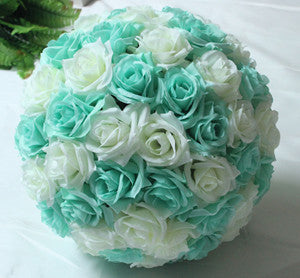 Image of Mint Green Flower Ball