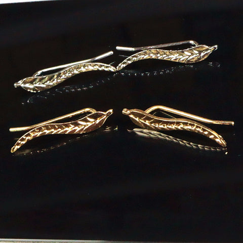 "Image of ""Leaf Of Life"" Earrings - 2 pairs"