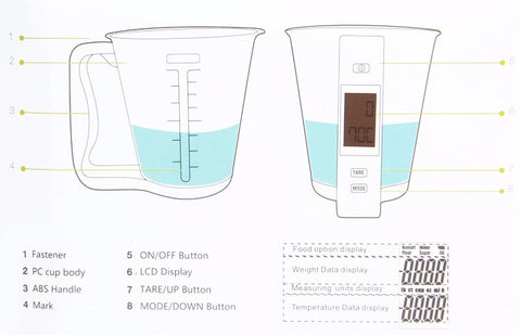 Digital Measuring Cup Scale
