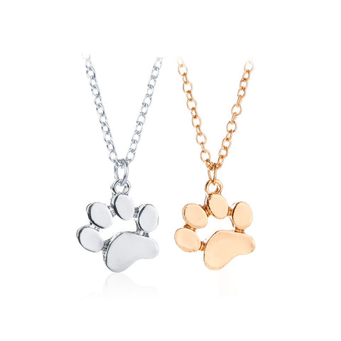 Image of Cute Animal Paw Necklace