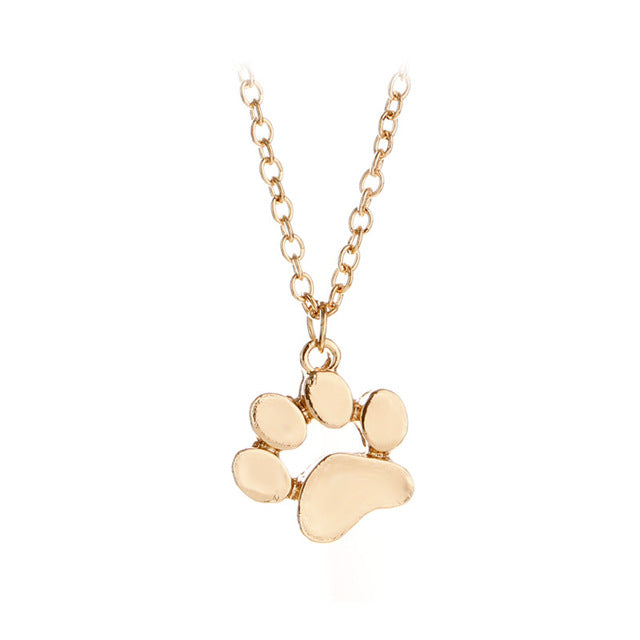 Cute Animal Paw Necklace