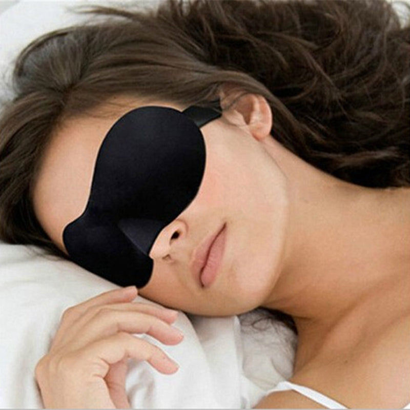 Sleep Well At Night With This Comfortable 3D Night Mask